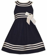 Bonnie Jean Girls Sleeveless Sailor Dress
