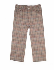 Boys Gentlemen Plaid Pants