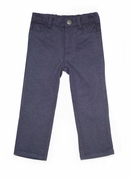 Boys Navy Knit Pants