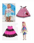 Girls Summer Wardrobe Builder � 14 Summer Items, size 3T