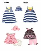 Girls Summer Wardrobe Builder � 16 Summer Items, 12m sizes