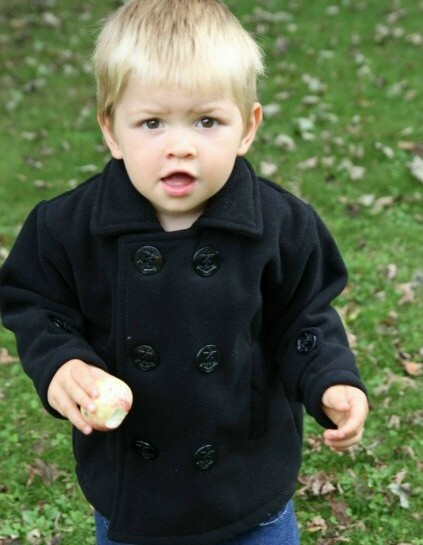 Boys Wool Pea Coats