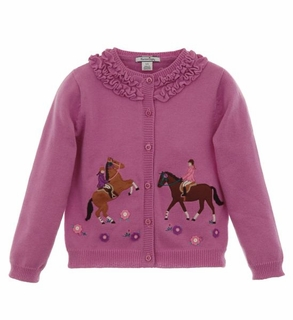 Hartstrings Toddler Girls Cardigan Sweater � English Countryside