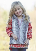 Hatley Girls Faux Fur Vest