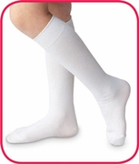 'High Class' Baby and Toddler Nylon Knee High  White, Pearl, Navy or Black  |  0-7 yrs