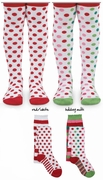 Holiday Dot Tights for Infants, Toddlers and Little Girls