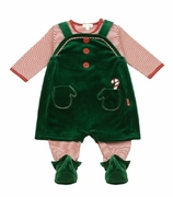 Le Top Baby Boy Elf Outfit - Santa's Helpers