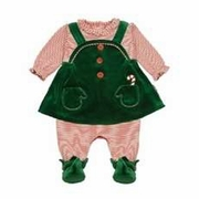 Le Top Baby Girl Elf Outfit - Santa's Helpers