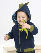 Le Top Boys Dinosaur Fleece Hoodie � Dino-mite!