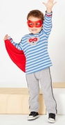Le Top Boys Hero Cape Shirt and French Terry Pant � Superdog