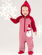 Le Top Boys Hooded Striped Frosty Coverall � Frosty and Family