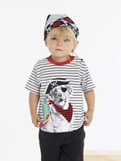 Le Top Boys Pirate Dog Shirt � Arf, Matey!