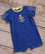 Le Top Boys Vespa Duck Romper - Darling Ducks