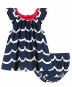 Le Top Girls Ocean Wave Dress and Panty � Seashore