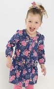 Le Top Girls Soft Navy Drop Waist Dress � Simply Charming