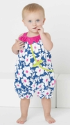 Le Top Girls Sunsuit with Petal Collar � Bloom