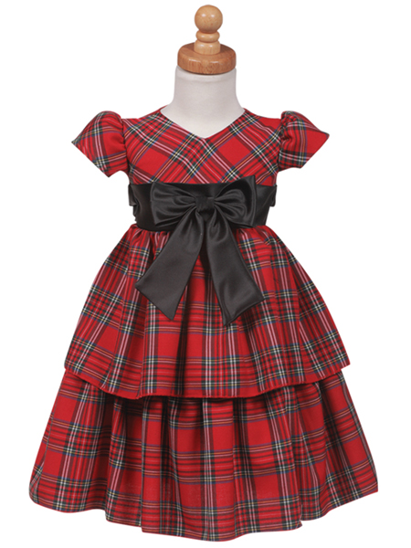 Girls Holiday Plaid Dress: BestDressedTot.com - Christmas Plaid ...