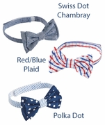 Mud Pie Adjustable Bow Ties for Baby/ Toddler Boys