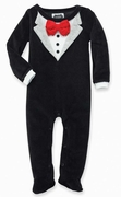 Mud Pie Boys Tuxedo One Piece � Little Gentlemen PREORDER