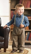 Mud Pie Boys Tweed Suspender Pant Set � Little Gentlemen PREORDER