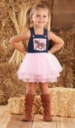 Mud Pie Girls Cowgirl Overall Dress � Wild Wild West