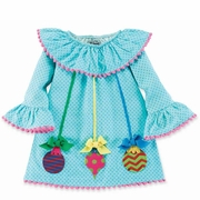 Mud Pie Girls Christmas Ornaments Dress � Pink Christmas PREORDER