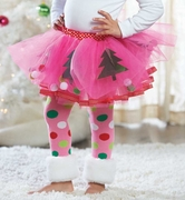Mud Pie Girls Pink Christmas Tutu � Reindeer Cheer PREORDER