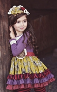 Mustard Pie Girls Plum Ruby Mia Tunic