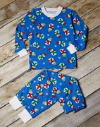 Sara's Prints Two-Piece Winter Pajamas � Chilly Snowman
