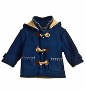 Zip Zap Boys Duffle Jacket with Removable Hood
