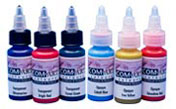 1oz Iwata Com-Art Airbrush Colors - Transparent