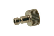 "AD9 Airbrush Quick Connect Plug 1/8"" Male"