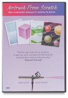 'Airbrush from Scratch' Basic to Intermediate Airbrush DVD from Iwata
