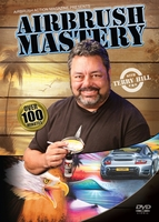 """Airbrush Mastery DVD with Terry Hill from Airbrush Action <font color=""""red""""> """"New"""" <font color=""""black"""">"""