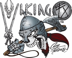 "Artool Viking FX Stencils by Craig Fraser - <font color=""blue""> New! </font>"