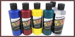 Auto-Air Candy Color 4oz. Set A - 6 Bottles