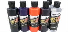 Auto-Air Candy-Pigment Colors Set B - 6 Bottles 4oz