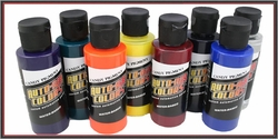 Auto-Air Candy-Pigment 2oz Sampler Set of 8 Bottles