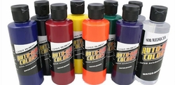 Auto-Air Candy-Pigment Colors Set C - 8 Bottles 4oz