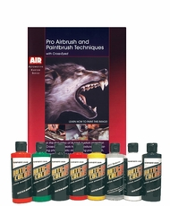 Auto-Air Pro Airbrush DVD and Color Set