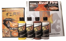 Auto-Air Real Fire Kit with Stencils and DVD!