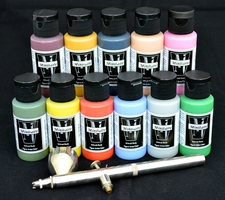 Badger Minitaire Figure Artist Colors - Airbrush Ready!