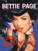 BETTIE PAGE BY OLIVIA (HARDCOVER)