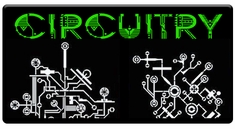 "CAS Professional Airbrush Stencils - <big><font color= ""FF0099"" > Circuitry Series</font>"