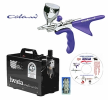 Colani Airbrush with Iwata Power Jet Lite and Hose
