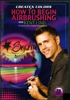 Createx 'How to Begin Airbrushing' DVD with Kent Lind