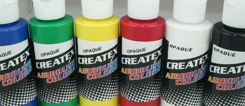 Createx Opaque Airbrush Colors