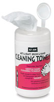 "EZ AIR CLEANING WIPES, 70pk of  5"" X 8"" towels"