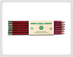 General's Heat Transfer Pencil pack of 12