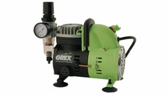 Grex AC1810-B - 1/8 HP Airbrush Piston Compressor 220V (European Voltage)